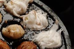 Ящик ба Kanom: имя тайского sweetmeat Стоковая Фотография RF