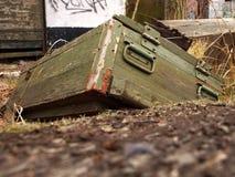 ящик боеприпасов старый Стоковые Изображения RF
