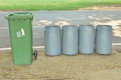Ящик в парке Стоковое Изображение