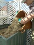 Ящик компоста Стоковое Изображение RF