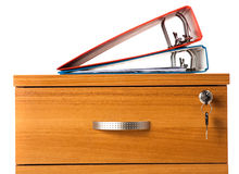 ящик обеспеченный Стоковые Фотографии RF
