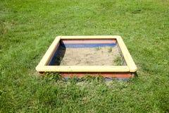 ящик с песком детей Стоковые Фотографии RF
