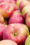 ящик яблока Стоковое Изображение