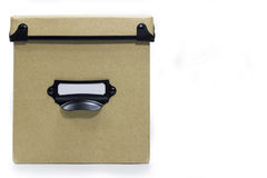 Ящик для хранения Брайна Стоковое фото RF