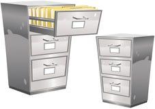 Ящик для хранения карточк Стоковые Изображения RF