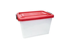 Ящик для хранения пластмасового контейнера Стоковое Фото