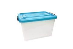 Ящик для хранения пластмасового контейнера Стоковая Фотография RF