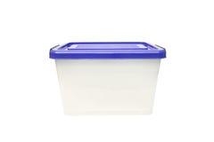 Ящик для хранения пластмасового контейнера Стоковые Изображения RF