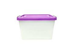 Ящик для хранения пластмасового контейнера Стоковое Изображение RF