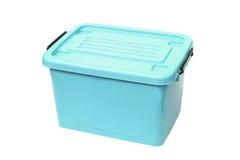 Ящик для хранения пластмасового контейнера Стоковые Фотографии RF