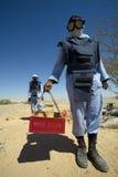 ящичная мина стоковое изображение