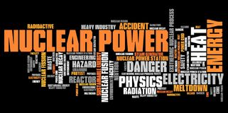 Ядерная энергия Стоковое Изображение RF