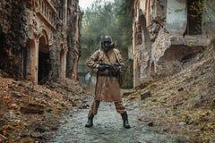 Ядерное оставшийся в живых пост-апокалипсиса Стоковая Фотография RF