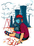 Ядерный ребенок Стоковое Изображение RF