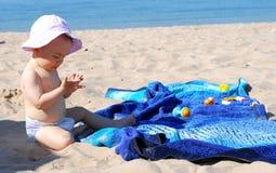 Я имею песок на всем мои руки Стоковое Изображение