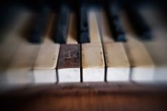 Я использую для того чтобы сыграть рояль стоковые изображения rf