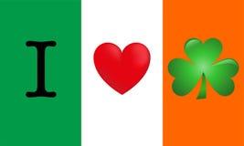 Я люблю Ирландию бесплатная иллюстрация
