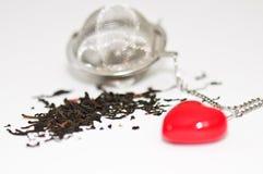 я люблю чай Стоковая Фотография