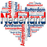 Я люблю Nederland (Нидерланды) Стоковая Фотография RF
