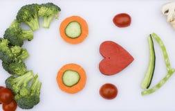 я люблю veg Стоковые Фотографии RF