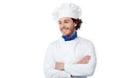 Я новый шеф-повар здесь стоковые фотографии rf