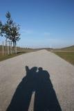 я показываю что путь будет вы Стоковая Фотография