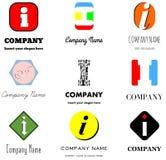 я помечаю буквами логос Стоковые Фотографии RF