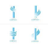 я помечаю буквами логос Стоковые Изображения RF