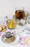 Я приглашаю чай Стоковое Фото