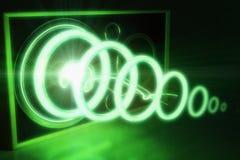 Ядровая радиоволна Стоковая Фотография RF