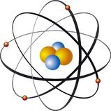 ядро атома Стоковое Фото