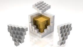 Ядр золота Стоковая Фотография RF