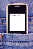 я тебя люблю Стоковые Фотографии RF