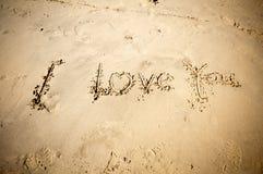 Я тебя люблю Стоковая Фотография RF
