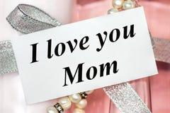 Я тебя люблю мама Стоковые Изображения