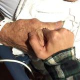 Я тебя люблю папа Стоковая Фотография RF
