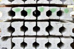 Я-луч Precast бетона Стоковое Изображение