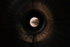 я шпионю Стоковая Фотография