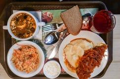 Я люблю много очень вкусная еда обед Стоковые Фото