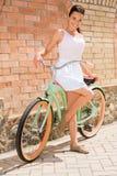 Я люблю мой велосипед! Стоковая Фотография RF