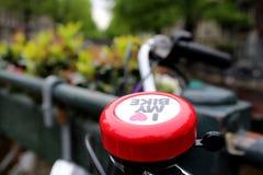 Я люблю мой велосипед Стоковые Изображения RF