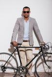 Я люблю мой велосипед! Стоковое Изображение
