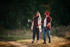 Я люблю побежать в поле Стоковое Изображение RF
