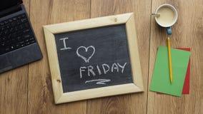 Я люблю пятницу Стоковые Изображения RF