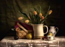 Я люблю тюльпаны Стоковые Изображения RF