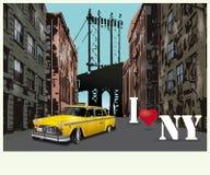 я люблю New York Стоковое фото RF