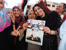 Ù�Women loves general Sisi Stock Images