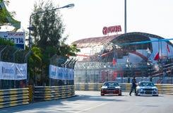 ฺBangasen泰国速度节日 免版税图库摄影