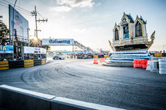 ฺBangasen Tajlandia prędkości festiwal Fotografia Stock