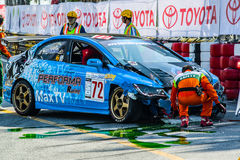 ฺBangasen Thailand Speed Festival Royalty Free Stock Images